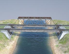 RW Bridge Vologda-II 3D asset