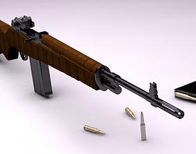 M14 - Game ready 3D asset