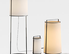 3D Macao floor lamp by Tooy