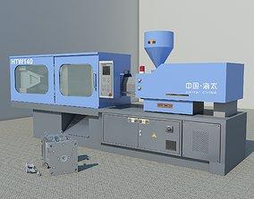 Molding machine HTW140 3D model
