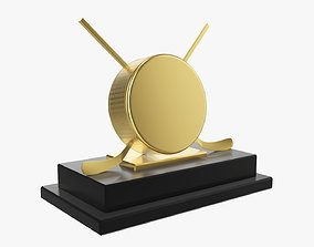 3D model Trophy ice hockey