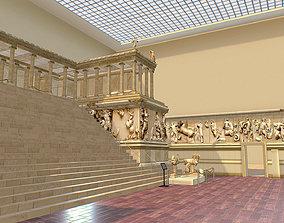 Pergamon Museum Altar Ishtar Gate Mshatta VR / AR ready 2