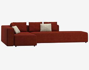 3D model Roda Dandy Sofa Terrace