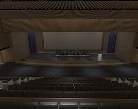3D model Conference Hall 4