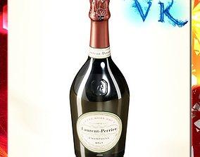 Laurent Perrier - Champagne Bottle 3D model