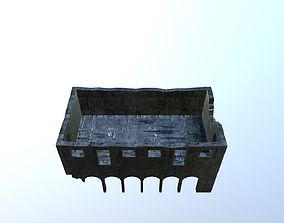 Damaged-Destroyed Building 3 3D model