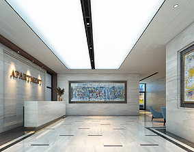 3D Apartment Lobby