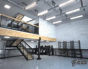 Garage 01 3D model