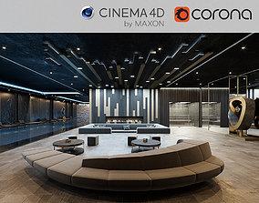 Corona - C4D scene files - Residential Pool Interior 3D