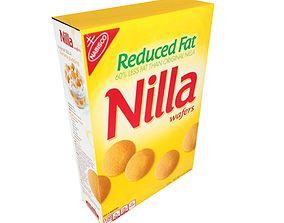 Nilla Reduced Fat Wafers 3D model
