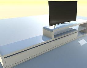 3D asset TV furniture