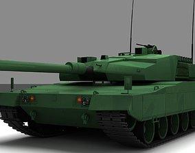 3D model Altay Tank
