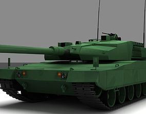 3D military Altay Tank