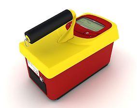 Radiation Survey Meter 3D model
