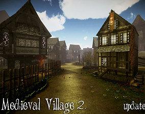 Medieval Village 2 Update 3D asset