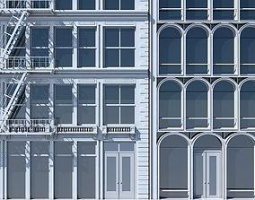 3D model Commercial Building Facade 10