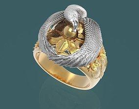 Ring Swan over the egg 3D printable model