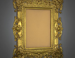3D model ATT - Fancy Picture Frame Antiques - PBR Game