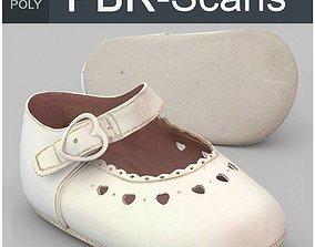 3D model Child Shoe Middle Poly
