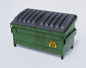 3D model Urban Dumpster