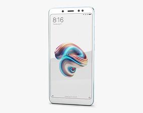 Xiaomi Redmi Note 5 Pro Lake Blue 3D