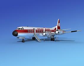 Lockheed L-188 Electra HP Galaxy 3D