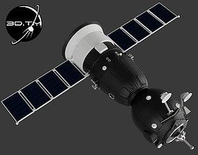 Soyuz MS Spacecraft 3D printable model