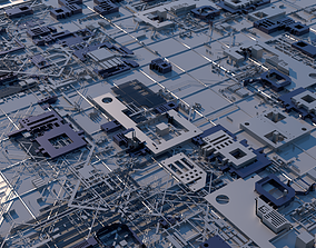 3D Sci-Fi Structure 01