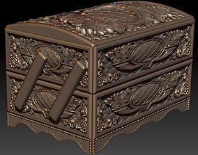 3D print model Two-tier casket