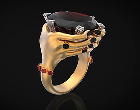 Hands ring for woman 3d printing
