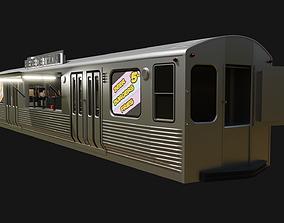 3D model Subway Bar