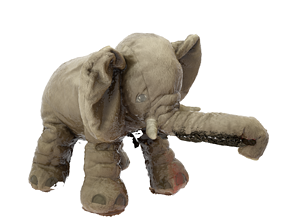 Cuddly Toy Elephant 3D model