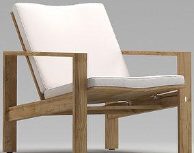 Sutherland Capri Lounge Chair 3D model