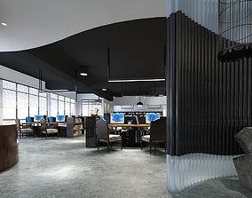 Office meeting room reception hall 04 3D model