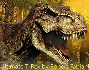 T-Rex 3D model realtime