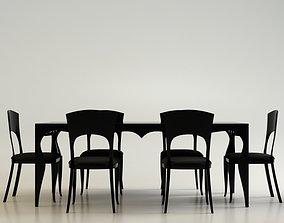 3D E and M Princess furniture set design