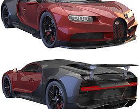 3D Bugatti Chiron sport