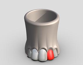 3D print model Vase Elefant foot