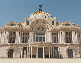 Palacio de Bellas Artes 3D model