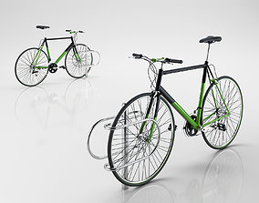 3D Bike with Rack