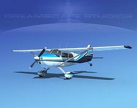 Cessna 170 V07 3D model