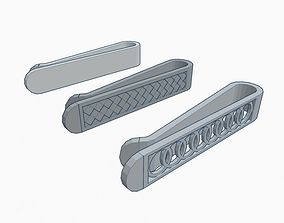 Tie Clips 3D printable model