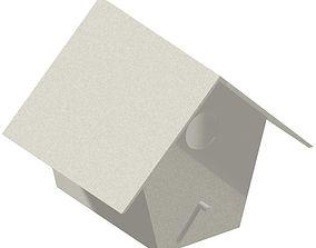 Birdhouse Blue Bird House 1 3D printable model