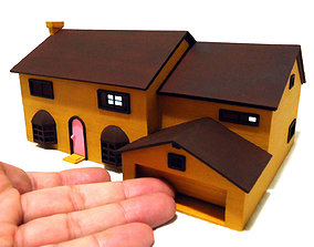 The Simpsons House 3D print model