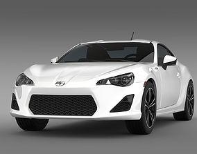 Scion FR S 2012 3D model