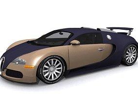 Bugatti EB 16-4 Veyron 3D asset