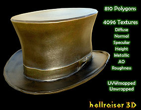 3D model Top Hat - Textured