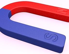 3D model office Magnet