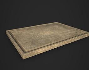 Cutting Board Model 3D asset