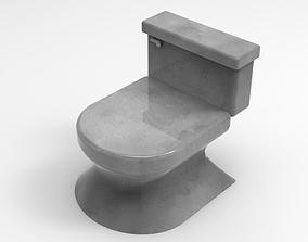 Toilet 1 3D print model